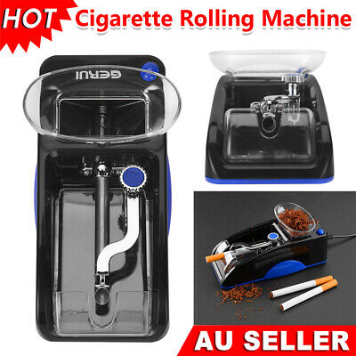 Automatic Cigarette Rolling Machine Electric Injector Roller Tobacco Tubes Case