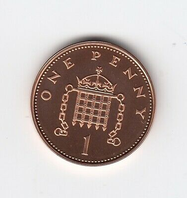 2004 ONE PENNY 1p In Extremely Nice PROOF Condition Very Nice Coin (2859)