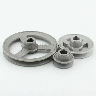 A Type Pulley Double V Groove Bore 22mm OD 120mm for A Belt Motor