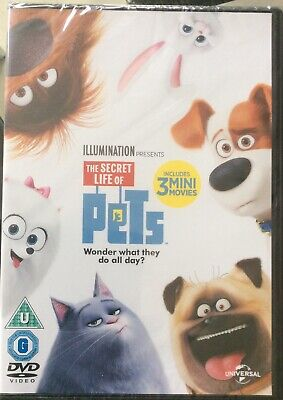 The Secret Life Of Pets DVD Brand new Sealed