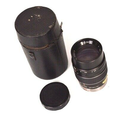 Kimunor No. 85677 f=135mm Prime Lens 1:3.5 w/ Leather Case NOT SURE OF MOUNT ???