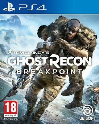 Tom Clancys Ghost Recon Breakpoint for Playstation 4 PS4 - UK - FAST DISPATCH