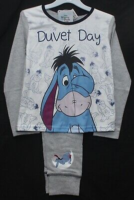 "Disney EEYORE ""Duvet Day"" Girls Pyjamas / WINNIE THE POOH PJs Sizes 5-12 Years"