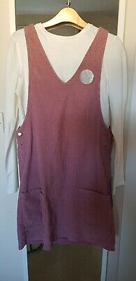 BNWT F&F Kids Girls Two-Piece Set Pink Dress and White Top Aged 13-14