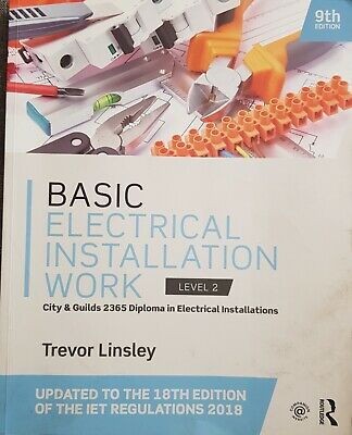 Basic Electrical Installation Work 2365 Edition by Trevor Linsley (Paperback,...