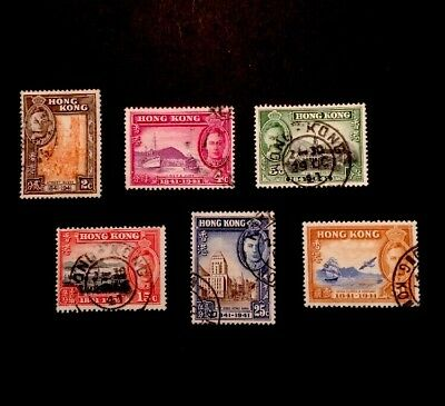 Hong Kong KGVI SG163/8 1941 Centenary Set Fine Used