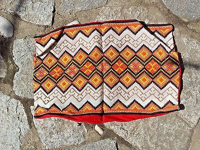 Lovely Hand Embroidered new pillow case cover more than 40 years old, colorful