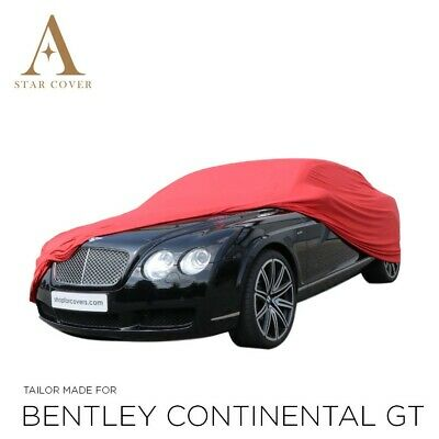 Bentley Continental Indoor Car Cover - Tailored - 2007-2019 - Slimfit - Red