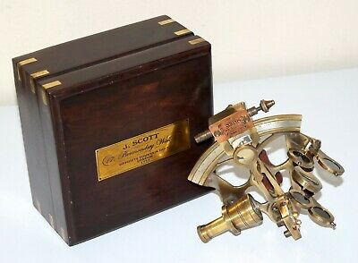 Brass Antique Ship Working Sextant Collectible Nautical Sextant Christmas Gift