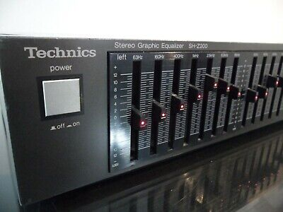 TOP CLASS ★ Equalizzatore  TECHNICS SH-Z200 - stereo graphic equalizer ★