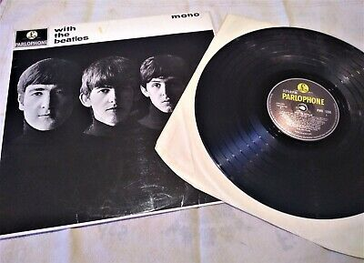 """The Beatles """"With The Beatles"""" - Lp 12"""" 1963 - Pmc 1206 Xex448 -7N"""
