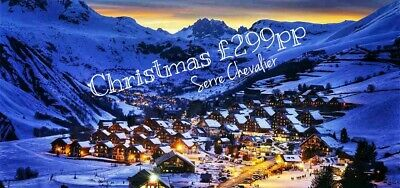 Christmas Ski Holiday | Serre Chevalier | £299 Catered