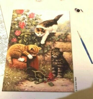 Painting by Numbers Kit - Kittens at Play - Royal & Langnickel