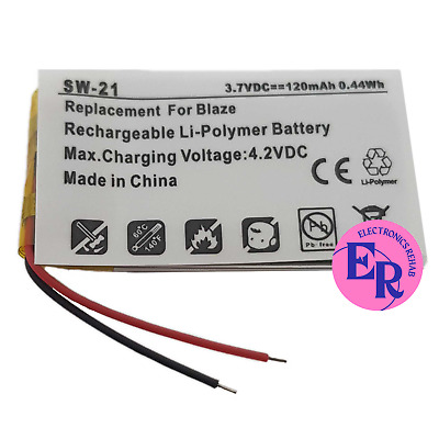 Replacement 120mAh Battery For Fitbit BLAZE OEM LSSP321830