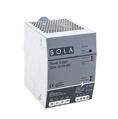 Sola Power Supply Sdn 10-24-480
