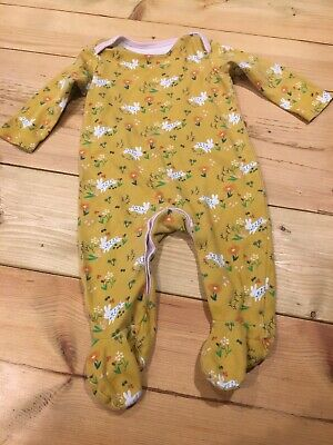 Boots Mini Club 3-6 Months Baby Grow Girl