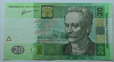 2011Ukraine 20 Hryven Foreign Paper Money Banknote Currency,Europe,Unc.new.