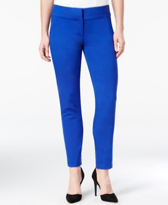 XOXO Womens Cobalt Shinny Dress Pants / Slacks Pick Size New With Tags *d