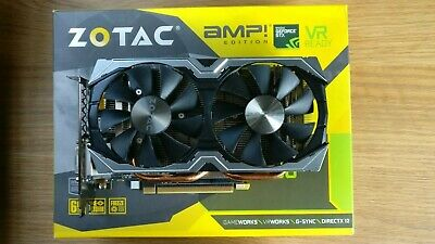 ZOTAC GEFORCE GTX 1060 6gb AMP EDITION.