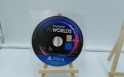 PlayStation VR Worlds Playstation 4 PSVR PS4 Disc Only PAL