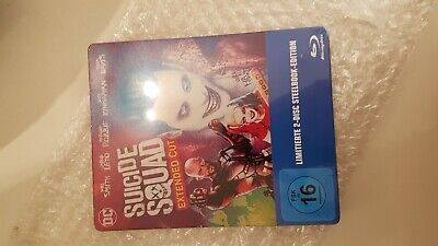 suicide squad extened cut steelbook bluray Limited Edition