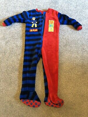 Fireman Sam Fleece All In One 2-3 Years