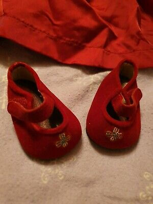 Zapf Creation Baby Born Dolls Christmas Outfit. Dress, Band, Shoes, Bag & Tights