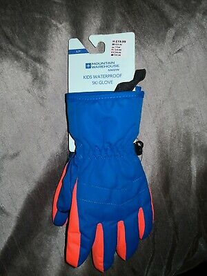 Mountain Warehouse Kids Waterproof Snow  Ski Gloves NEW small rrp £19.99 gift