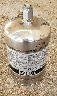 ANSUL R-102 WET Chemical Fire Suppression System 2 Tank