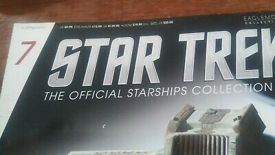 STAR TREK ,The Official Starships Collection -no  (7)