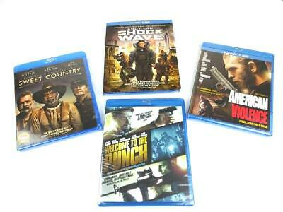 Blu Ray Action Movie Bundle Lot of 4 New Sealed James McAvoy Andy Lau Great Gift