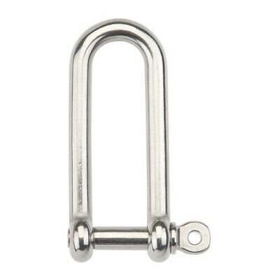 BEAVER Grade 316 Stainless Steel Long Dee Shackle 10mm (PACK OF 4) | AUTH DEALER