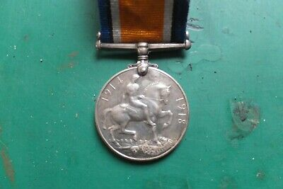 WW1  1914-18 Medal. Named.