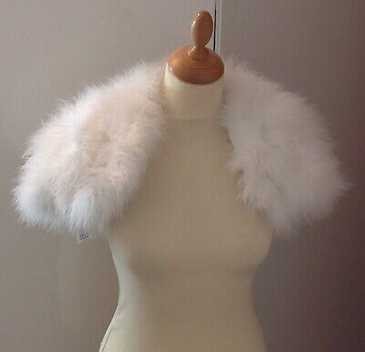 Jasper Conran Ladies 100% Natural Feather Shrug in One Size