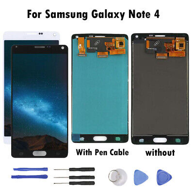 For Samsung Galaxy Note 4 LCD Display Touch Screen Digitizer Assembly RL02