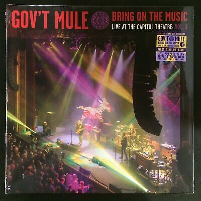 """Gov't Mule  - """"Bring On The Music - Live At The Capitol Theatre: new RSD BF 2019"""