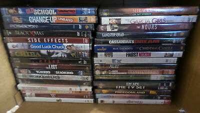Wholesale Lot of 32 Different Brand New Sealed DVD Movies (Lot 747)