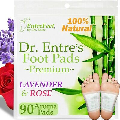 Dr. Entre's Detox Foot Pads(90 Pack) Body Patch For Cleansing Toxins Health Care