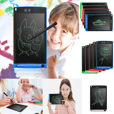 Electronic Digital LCD Writing Pad Kid Toy Tablet Drawing Graphics Board Notepad