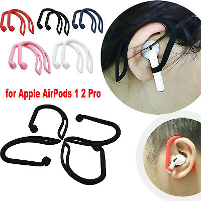 Silicone Anti-lost Sports Ear Hook Holders For Apple AirPods 1 2 Pro Earphone