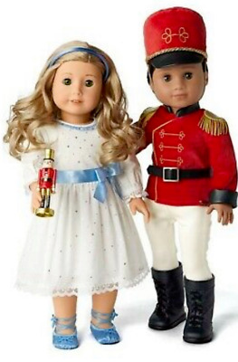 American Girl Doll Nutcracker Prince & Clara Outfits Limited Edition Holiday NEW