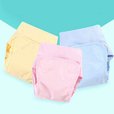 Baby Diaper Newborn Cartoon Waterproof Anti-side Leakage Cloth Diaper KI