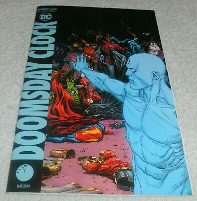 Dc Comics Doomsday Clock # 9 Vf+/Nm Cover B