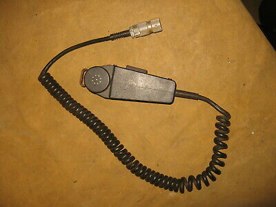 Genuine US Military Issue Surplus M80//U Dynamic Radio//PA Microphone Handset