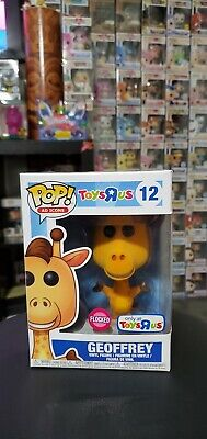 Funko POP! Ad Icons GEOFFREY Flocked #12 TOYS R US EXCLUSIVE RARE VAULTED NEW