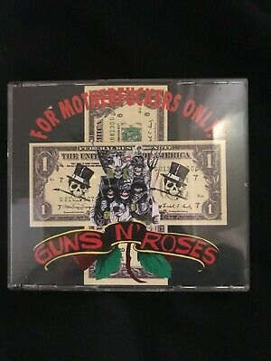 "Guns N' Roses FOR MOTHERF**KERS ONLY  - Live AT DEER CREEK ""  2CDBOX (RARE)"