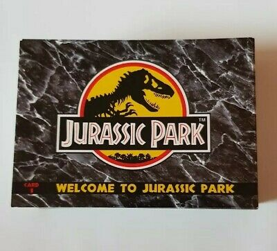 Jurassic Park Trading Cards 110 Complete Set 1993 by Dynamic Marketing