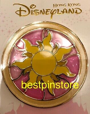 Hong Kong Disney Pin 2019 HKDL Princess Logo Icon Series - Rapunzel