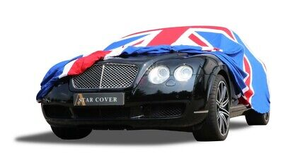 Bentley Continental Indoor Car Cover - Tailored - 2007-2020 - Union Jack - GTC