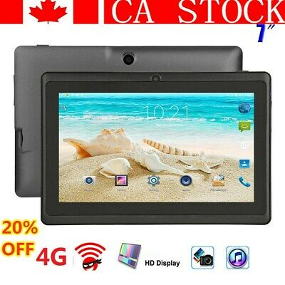 2019 NEW 7 inch Android Tablet 4GB Quad Core 4.4 Dual Camera Wifi Bluetooth Pad